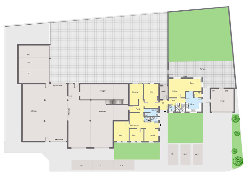 Jenne d lter immobilien immobilien in freiburg und for Grundriss wohnhaus
